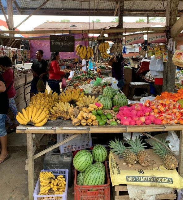 ボホール島ローカル市場(Bilar Public Market)