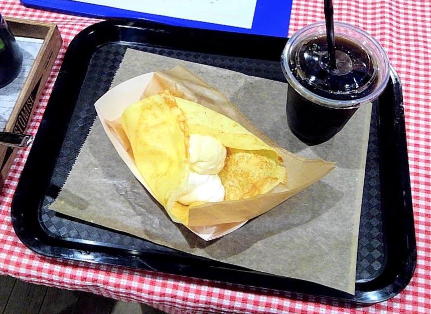 クレープ 大阪キャリナリー製菓専門学校 学園祭