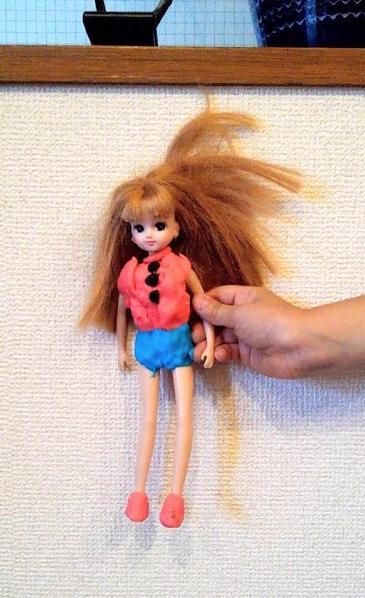 お米のねんどの作品 リカちゃんのお洋服