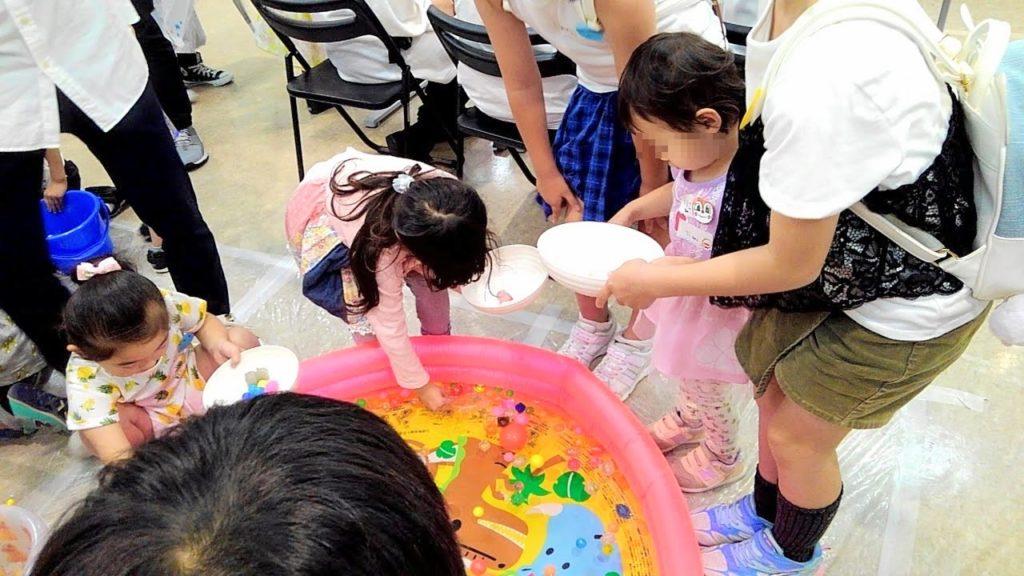 スーパーボールすくい 大阪キャリナリー製菓専門学校 学園祭