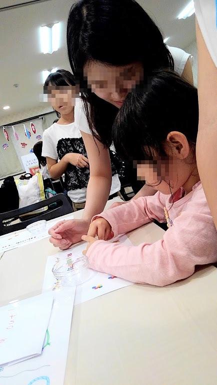 アクセサリー作り 大阪キャリナリー製菓専門学校 学園祭